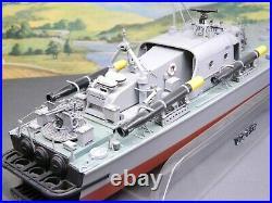 1/72 BUILT Model Tamiya VOSPER FAST PATROL BOAT PERKASA Painted & Detailed