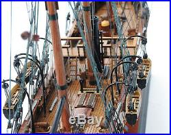 31.5 Civil war Confedearte States CSS Alabama Tall Ship Boat Assembled Wood