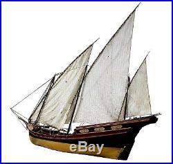 8 1/2ft French Warship Model Aldebaran, Hand-Built & Customized