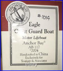 Anchor Bay By Harbour Lights US Coast Guard Motor Life Boat The Eagle 2004