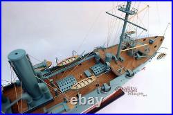 Aurora Cruiser Handcrafted War Ship Display Model 40