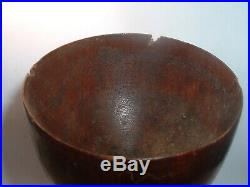 Authentic AUTHENTIC Relic Turned wood Goblet USS Constitution Old Ironsides