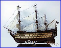 Blackbeard's Queen Anne's Revenge Scaled Display Model Pirate Ship 37