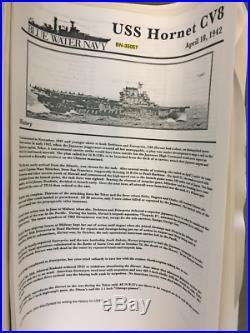 Blue Water Navy 1/350 USS Hornet CV8 1942 Rare Resin & Metal Model Kit #BN-35057