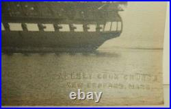 Circa 1930's Albert Cook Church Photographic Portrait of The USS Constitution