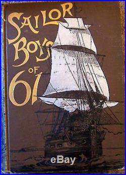 Civil War Navy Army Union CSA Sea Ship Port Battle USS Sailor Boys Captain Fleet