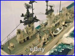 DLG-23 USS Halsey / 1-350 Pro-biult diorama / FREE SHIPPING