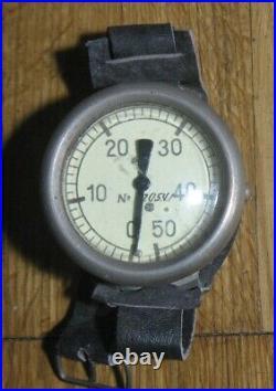 Diver Russian Army NAVY SWAT Depth gauge Battle Swimmer Diving Frogman Plunger W