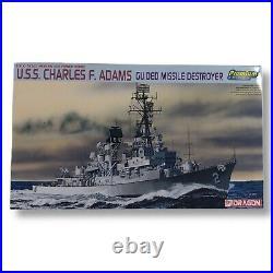 Dragon U. S. S. Charles F. Adams Missile destroyer Premium Edition Model A11