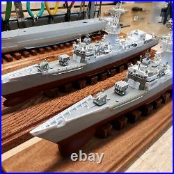 FF-1086 USS BREWTON Knox class 1/415 Pro Built FREE SHIPPING