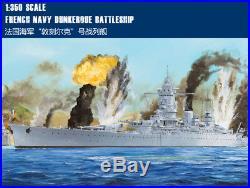 FRENCH NAVY DUNKERQUE BATTLESHIP 1/350 ship Hobbyboss model kit 86506
