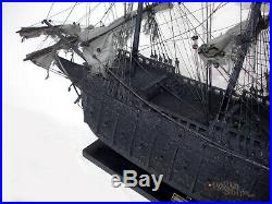 Flying Dutchman Handcrafted Pirate Ship Model Ready to Display