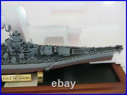 Franklin Mint Us Battleship Missouri Bb-63 B11xlo6 B11xl06 Nib