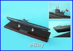 German Navy U-Boat Submarine MBSGUT WWII Wood Model Assembled