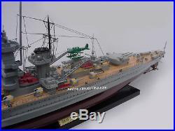 Graf Spee German Battleship Ship Model 39 Built Wooden Model Ship NEW