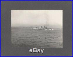 Great White Fleet at San Francisco 1908 9 Mounted Photos USS MInnesota etc