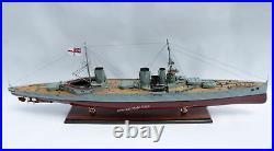 HMS Queen Mary Royal Navy BattleCruiser Model 39 Handcrafted Wooden Model NEW