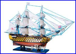 HMS Victory 50 Limited Assembled Model Ship