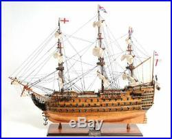 HMS Victory Bottom Model Ship