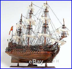 Hand Made Wooden Ship Model San Filipe Exclusive Edition Fully Assembled