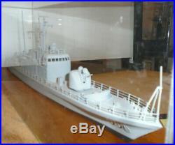 Handbuilt Model of the USS Defiance, Naval Gunboat