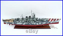 Italian battleship Roma 1940 Handcrafted War Ship Display Model 39 NEW
