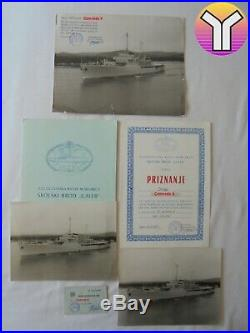 JRM SB Galeb Yugoslav navy ship big lot
