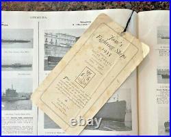 Jane's Fighting Ships Book 1933 Sampson, Low, Marston & Co London