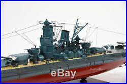 Japanese Battleship Musashi Yamato-class 39.5 Handmade Model Museum Quality