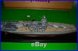 Japanese Navy Battleship Yamato WWII Wood Model Ship Pacific Models 31