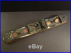 Large LIBERTY Ship Model Plaster Wood & Lead 22 1945 WW2