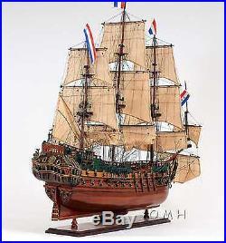 Model Dutch Ship Friesland All Handmade Fully Assembled