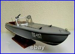 Model of Soviet Armed Motor Boat PG 117. Museum Model. Rare