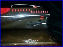 Model submarine Russian Soviet Navy desk ornament wing rocket
