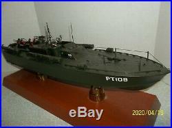 Motion Models 1/40th scale PT 109 Patrol display Boat Ship WWII John F Kennedy