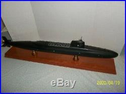 Motion models USS Lafayette submarine SSBN-616 display model boat 3ft long