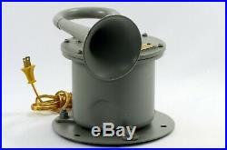 Navy Ship Klaxon Horn Type 1C/H2S4 Working 95 dB Trumpet Horn Signal (Video)