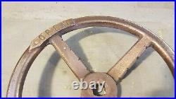 Oliver Hazard Perry FFG-7 Brass Deck Hatch Wheel