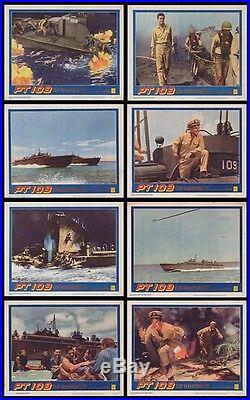 PT 109 original 1963 lobby card set JFK/U. S. NAVY/WW2 11x14 movie posters