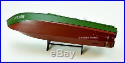 PT Boat 109 John F. Kennedy in WW II Wooden Boat Model 26