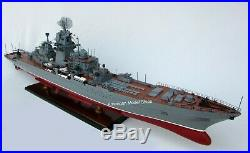 Pyotr Velikiy Russian Battleship Model 39 Handcrafted Wooden Model NEW