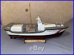 RC COAST GUARD Boat 44ft motor Life Boat RC (IMEX)