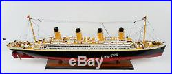 RMS TITANIC SPECIAL Museum Quality Model 40 Handcrafted Wooden Model NEW