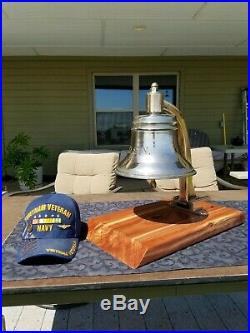 Rare Antique U. S. Navy Foredeck Bell Dating from the Turn of the 20th Century