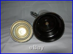 Rare vtgT. S. M. V Manoora Steamship TROPHY CUPManoora Enamel BadgeWW2 interest