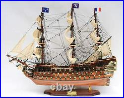 Royal Louis 1779 Museum Quality Tall Ship Model 35 Handcrafted Wooden Model NEW