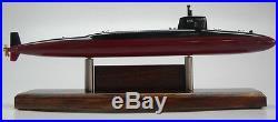 SSBN-636 USS Nathanael Greene USA Submarine Mahogany Wood Model Large New