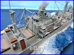 SS John W Brown Liberty ship / Pro bulit diorama 1350 / FREE SHIPPING