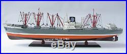 Seine Lloyd Cargo Ship Model 40 Handcrafted Wooden Model NEW