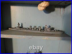 Super Rare! Original WWII Navy training, Japanese ship, recognition model set 1